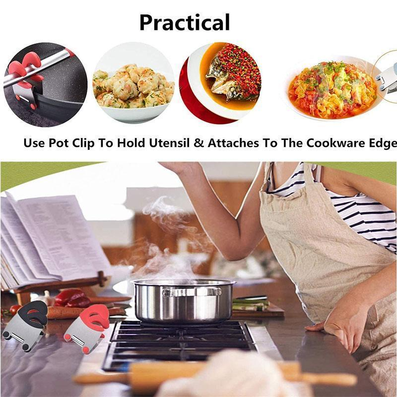 Pot Side Spatula Clip