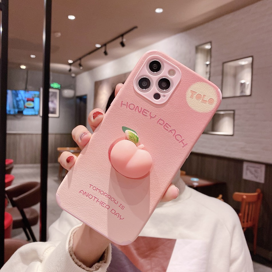 Peach Phone Case