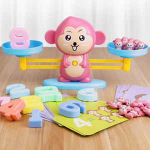 Monkey Digital Balance Scale Toy