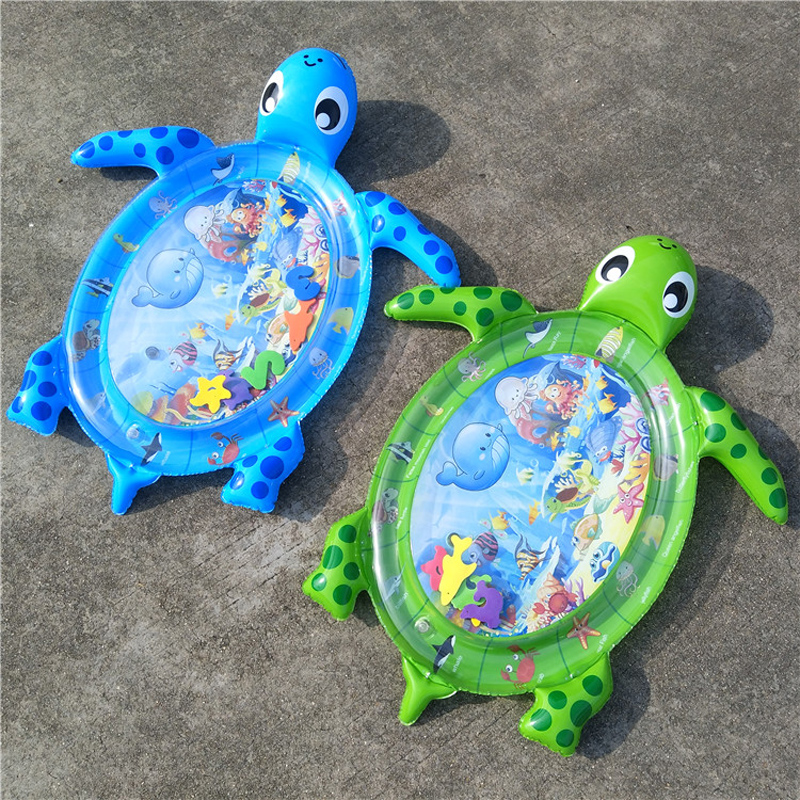 Baby Water Mat Inflatable Tortoise
